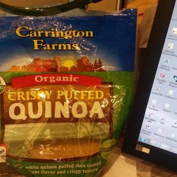 Quinoa & Fruit Breakfast