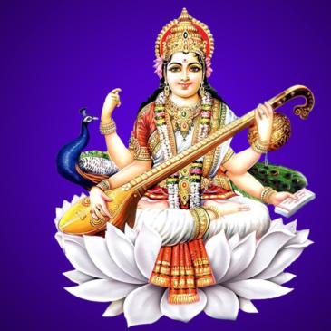 Conducting Saraswati Puja
